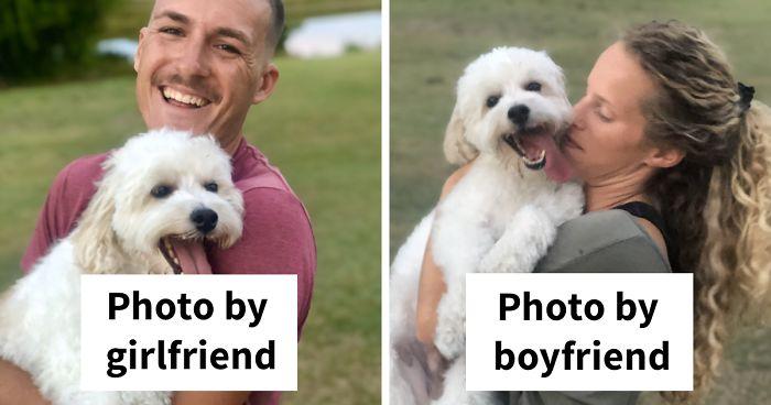 "33 Girls Share ""Pics I Take Of My Boyfriend Vs. Pics He Takes Of Me"" Comparisons (New Pics)"