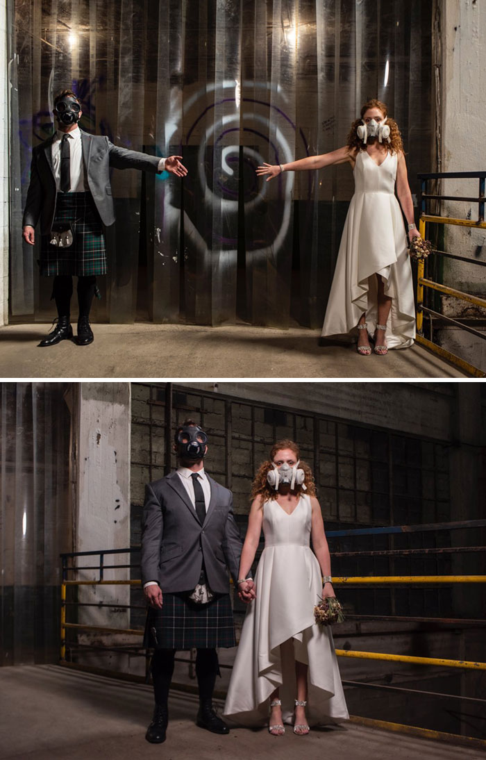 No Way Could A Pandemic Stop Us From Getting Married