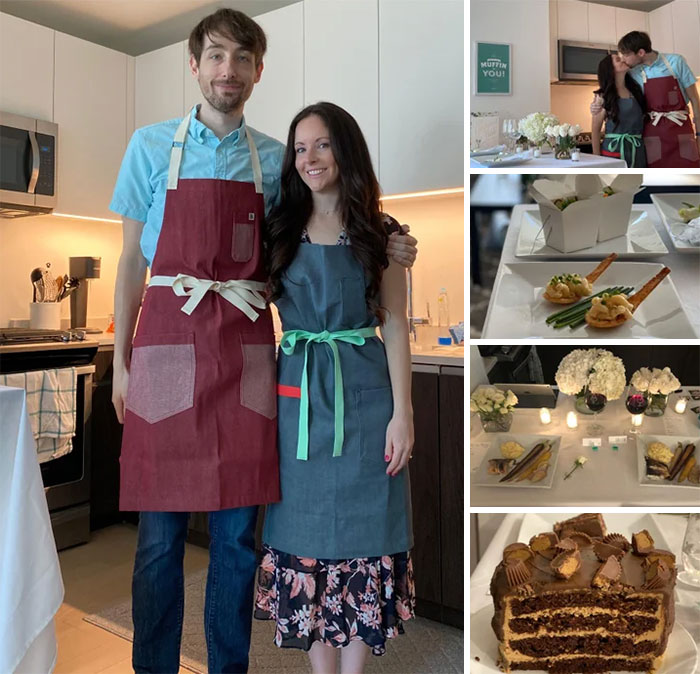 We Couldn't Get Married Yesterday, So We Turned To Our Cooking Strengths And Recreated Our Wedding Menu Ourselves