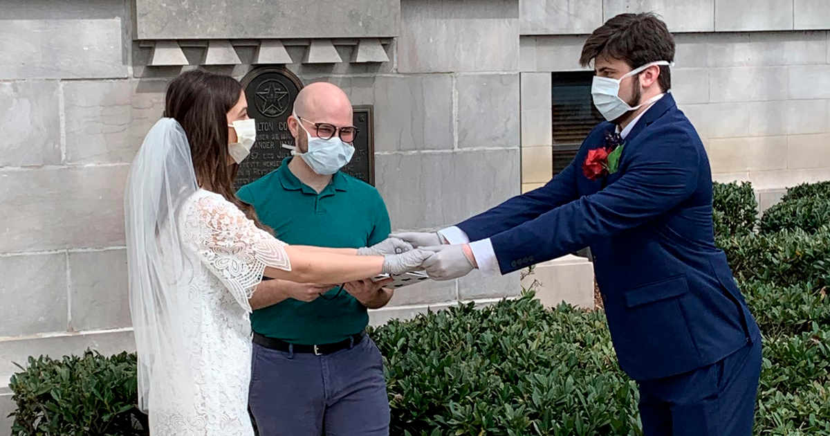 99 People Who Couldn't Have A Proper Wedding During Quarantine