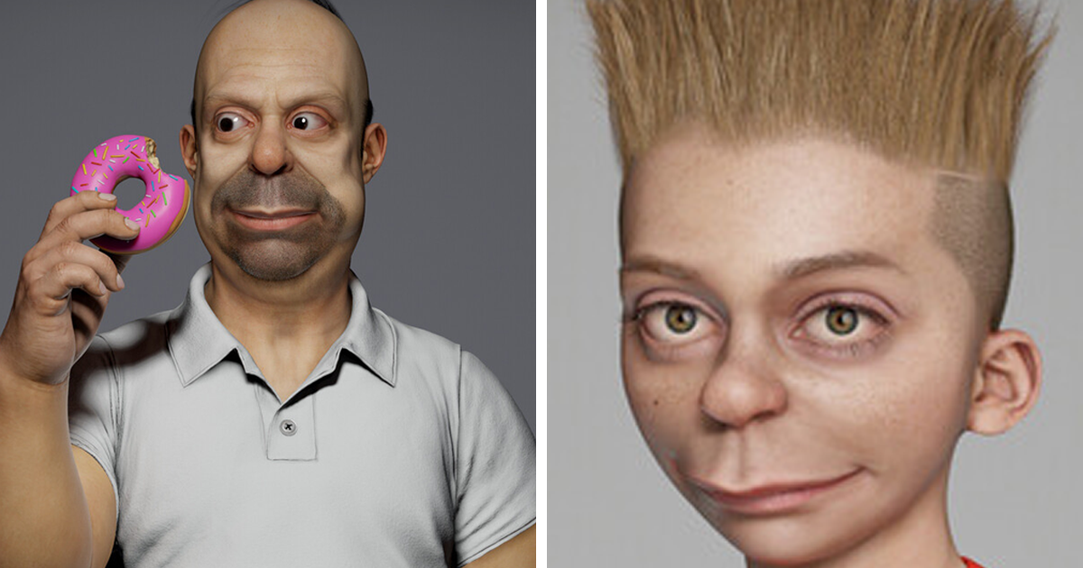 Artist Recreates Famous Characters From The Simpsons As Real People