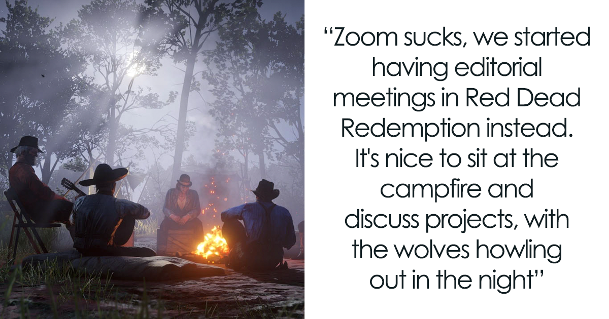 This Editorial Team Ditches Zoom And Instead Starts Using Red Dead Redemption For Meetings, Here's How It Goes For Them