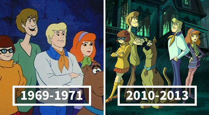 Person Sums Up The Changes In Scooby Doo Over The Years With Hilariously Accurate Descriptions