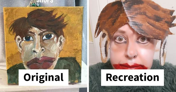 96 Hilarious Recreations Of Terrible Charity Shop Art