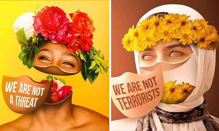 Artist Draws Attention To Race And Gender Stereotypes With A Series Of Surreal Portraits