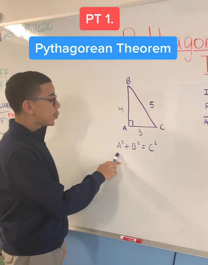 This 16 Y.O. Uses TikTok To Tutor His 600k Followers Math And Science