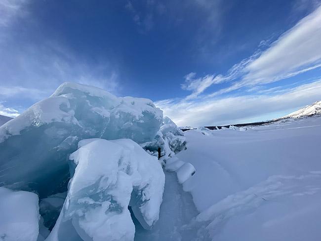 Summer Tour Of An Alaska Glacier