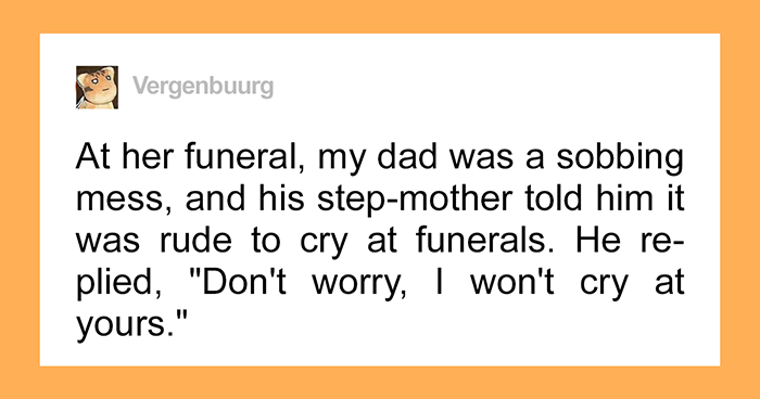 "Men Share Their ""Toxic Masculinity"" Stories After This Guy Shares A Story Of How His Dad Was Told It's Rude To Cry At Funerals"