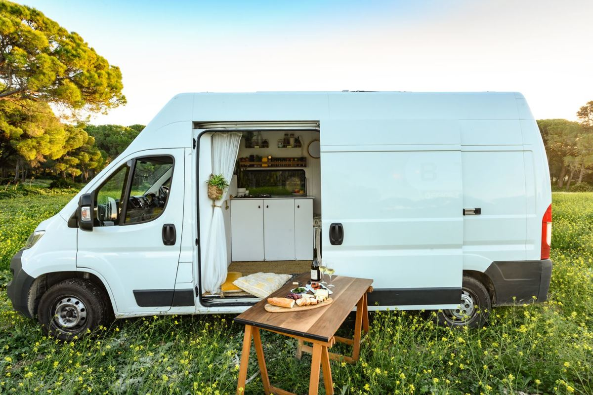 The Perfect Van For A Cosy Couple's Getaway, Or A Family Adventure Holiday.
