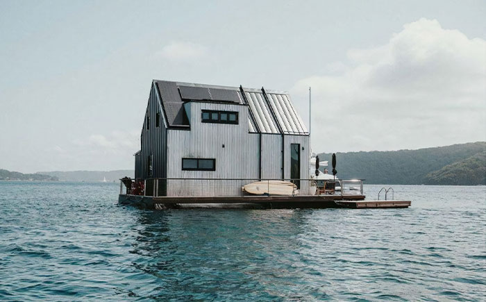 This 100% Solar-Powered Floating Villa Offers A Luxurious Escape For Couples