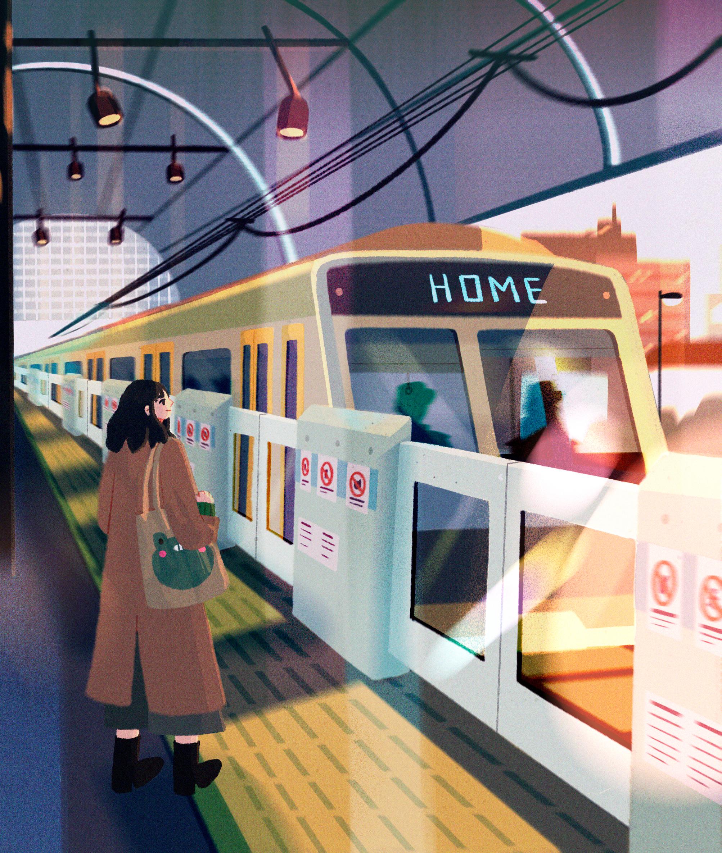 My 7 Illustrations Exploring Wonder In The Mundane To Help You Get Through Lockdown