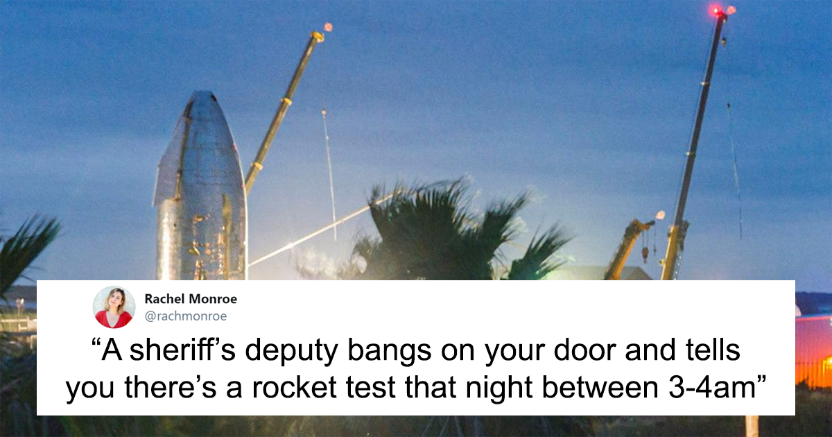 After This Woman Shared What It's Like To Be Elon Musk's SpaceX Neighbor, A Heated Discussion Ensued