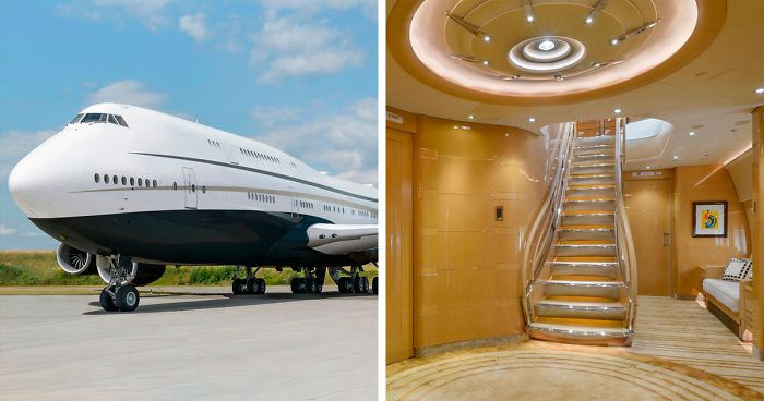 Check Out The Inside Of The World S Largest Private Jet That Looks Like A Flying Mansion 25 Pics Bored Panda
