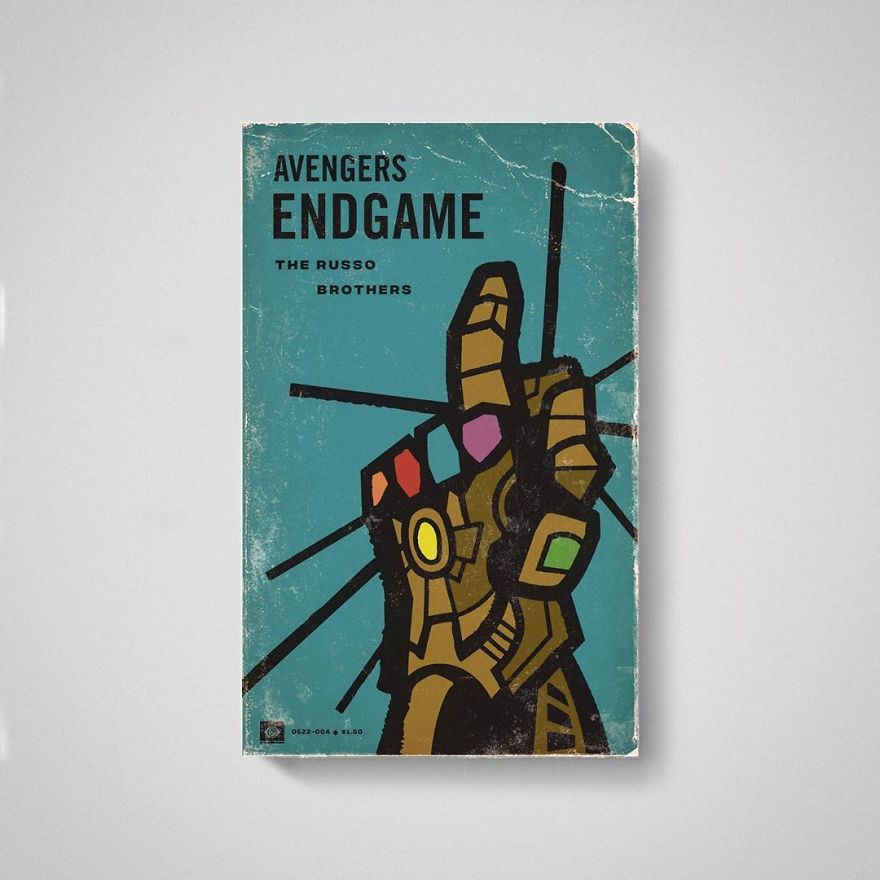 This Artist Imagined What Some Films Would Be Like If They Were Old Books