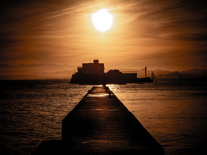 I Really Love Sunsets And I Just Hapenned To Be In To Be In The Right Place At The Right Moment. I Took In In My Trip To Santander (Cantabria)