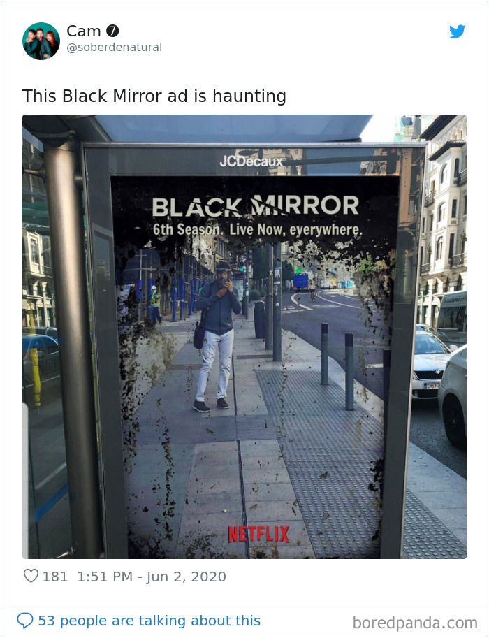 Students' Ad States Black Mirror's Season 6 is Reality And It All Makes Sense Now