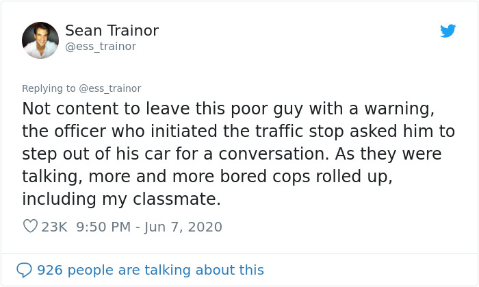 Guy Who Shadowed A Cop For A Night Tells How It Completely Changed His Opinion On Police In This Viral Twitter Thread