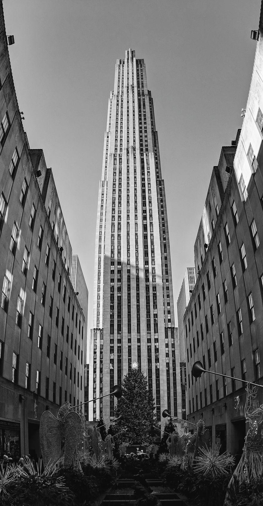 Rockefeller Centre On Christmas