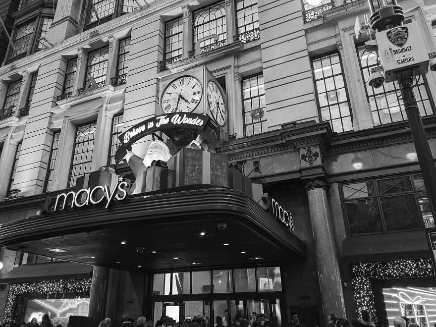Macy's During Christmas