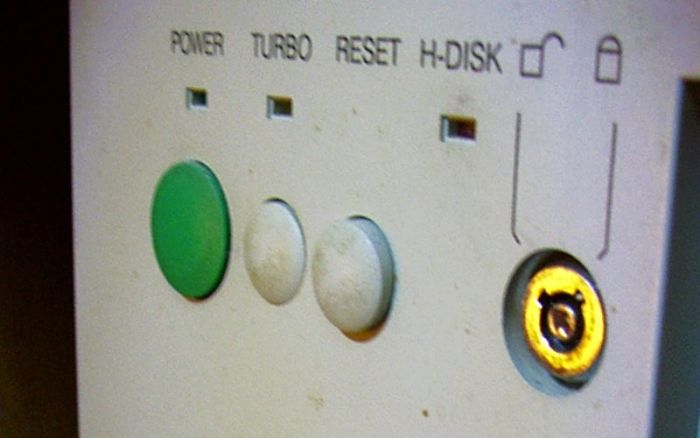 Your Computer Game Running Too Fast Or Too Slow? Switch The Turbo Button On Your Computer Case On/Off