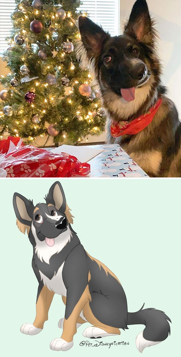 Artist-Turns-Pets-Disney-Characters-Pet-Disneyfication