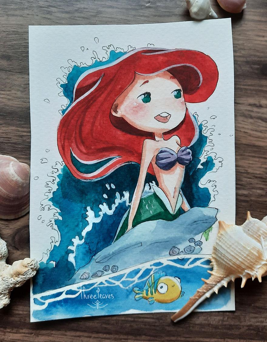 Day 26: Ariel
