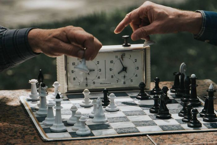 It's A Simple One But I Really Loved Seeing Old Men Playing Chess In The Park