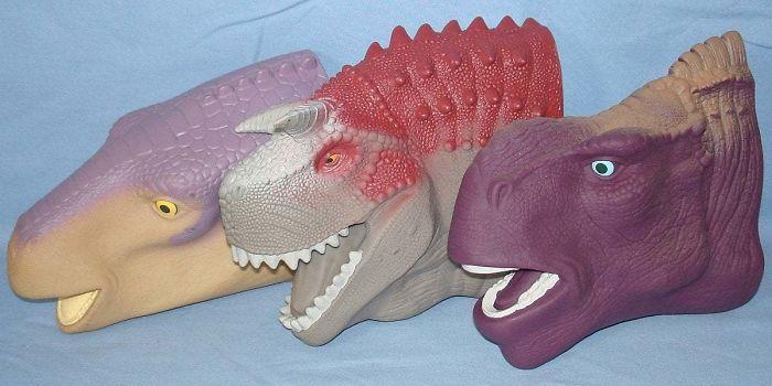 McDonald's Dinosaur Hand Puppets