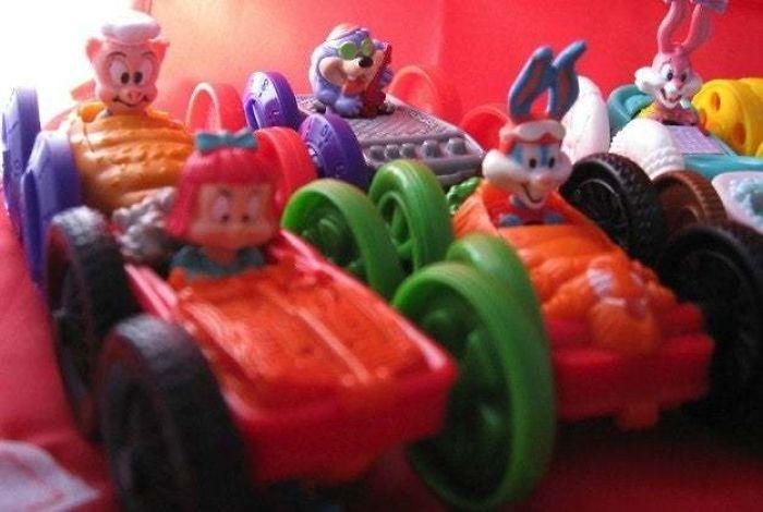 Tiny Toons Flip Cars - McDonald's Toys