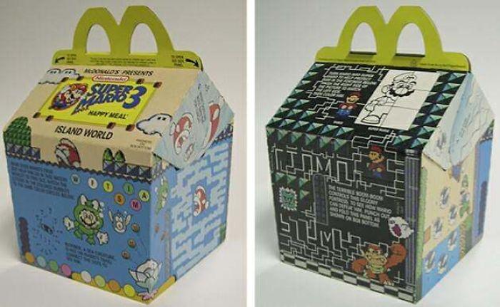 Super Mario Bros. 3 McDonald's Happy Meal