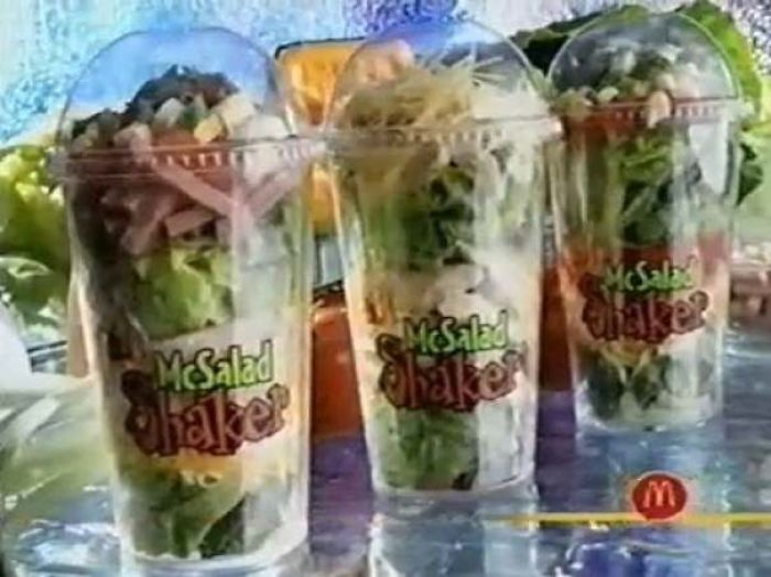The Mcsalad Shaker From Mcdonalds