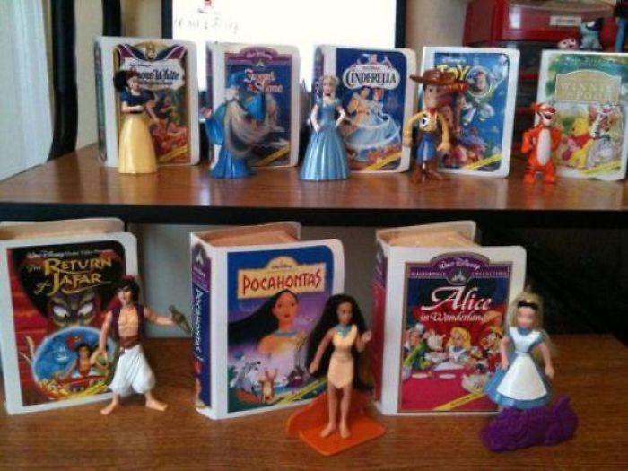"Did Any One Else Collect The ""Disney Video Masterpiece"" Toys From Mcdonald's ?"