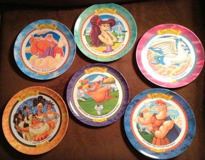 90s Mcdonalds Plates