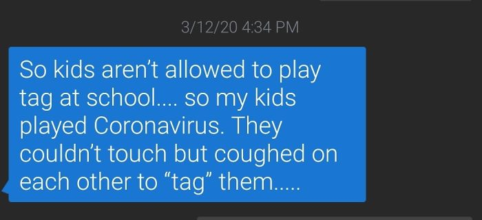 """My GF Teaches 1st Graders. Her School's """"No Tag"""" Policy Is Working Great"""