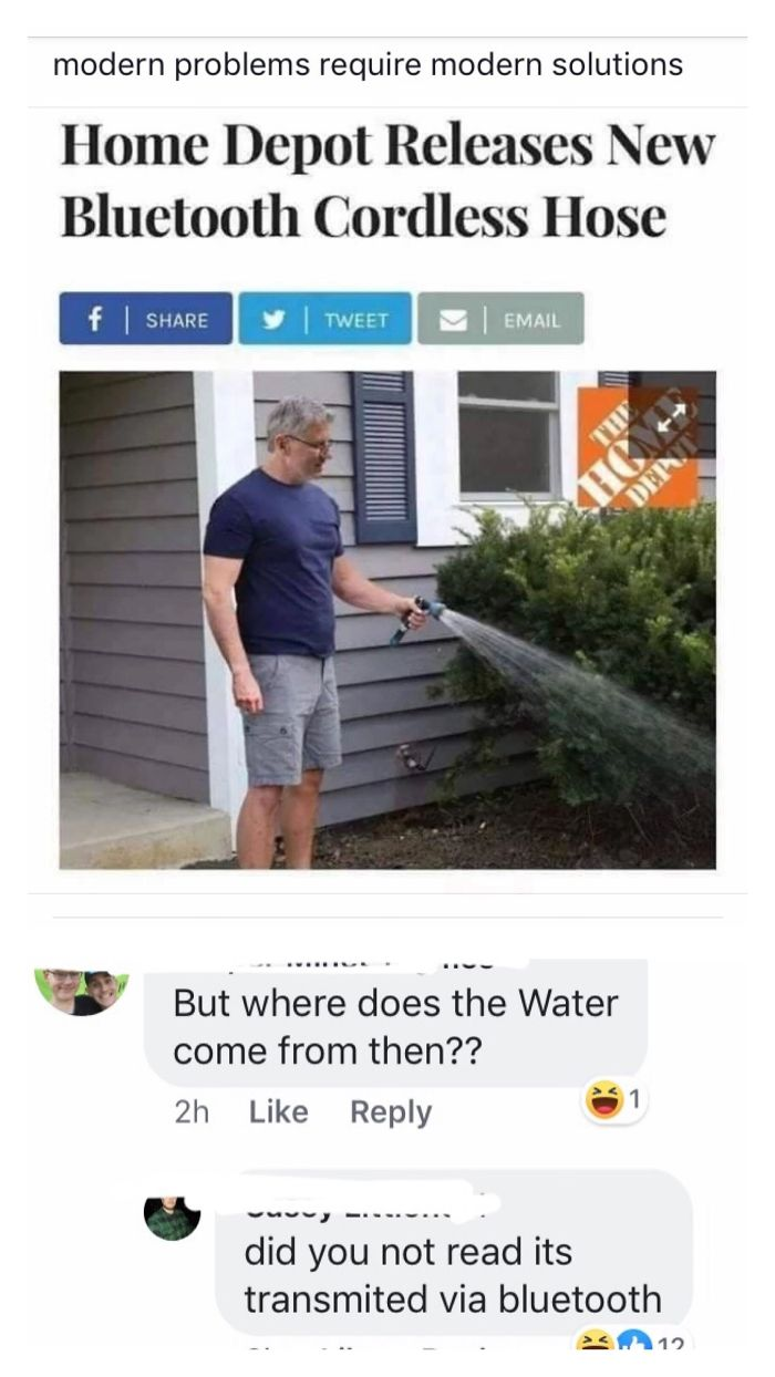 But Seriously Where Does The Water Come From?