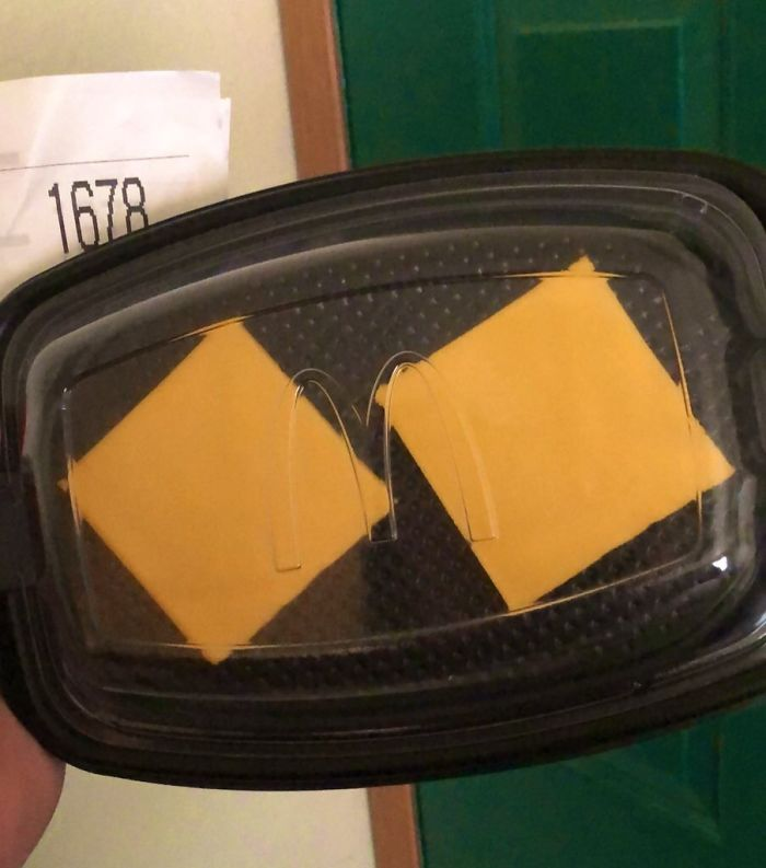 I Paid $6 To Have Two Slices Of American Cheese Delivered To My Door