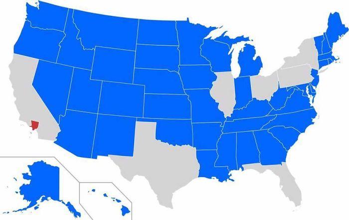 Estados con menos población que el condado de Los Angeles