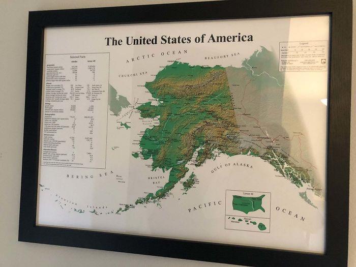 EEUU desde la perspectiva de Alaska