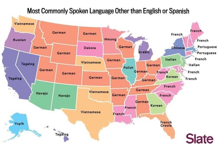 Most Commonly Spoken Language In The Us After English And Spanish