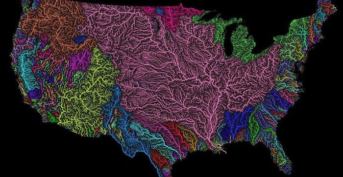 Cuencas hidrográficas de EEUU