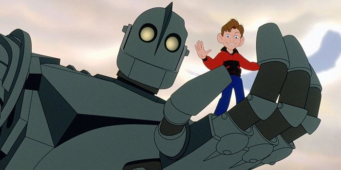 "Brad Bird Was In Part Inspired To Make This Movie (The Iron Giant 1999) As A Memorial To His Sister Susan, Who Died At The Hands Of Her Husband By Gun Violence. His Pitch Was This: ""What If A Gun Had A Soul And Didn't Want To Be A Gun?"""