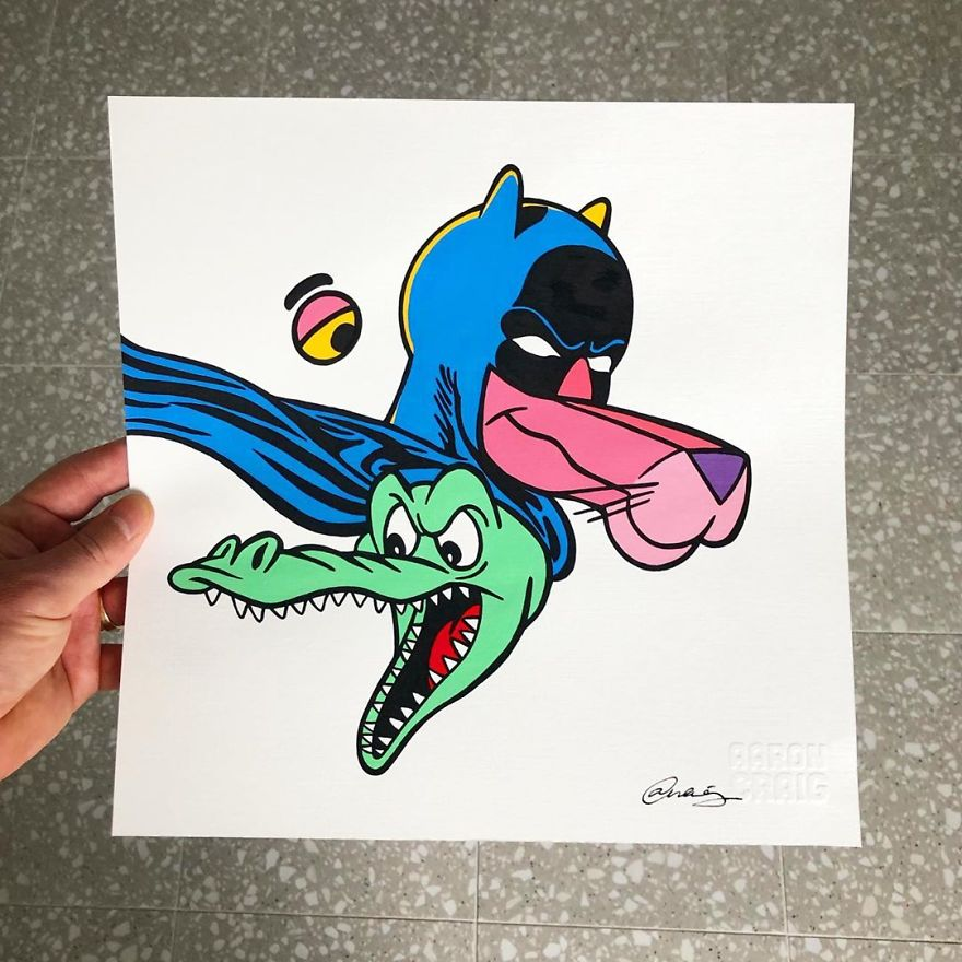 This Artist Makes Incredible Mixes Of Characters From Pop Culture