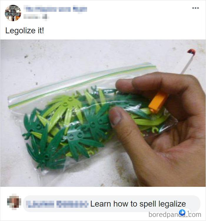 Legolization Gone Wrong