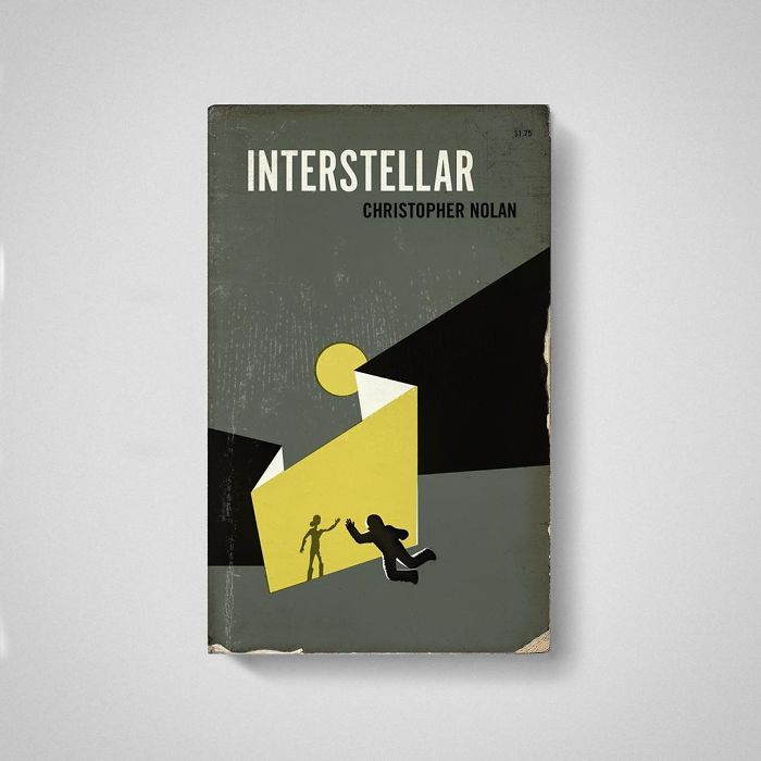 Designer Imagines What His Favorite Movies Would Look Like If They Were Old Books (35 Pics)