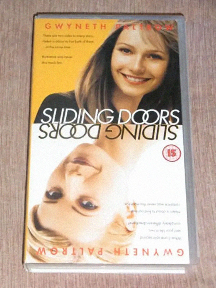 Don't Want People To Read Your Diary? Simply Hide It Inside An Empty Sliding Doors Vhs Case
