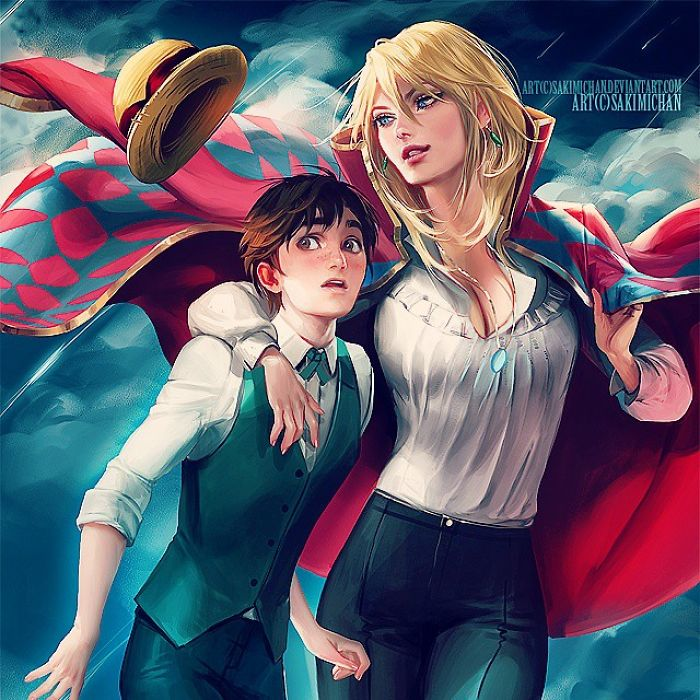 Wizard Howl And Sophie Hatter