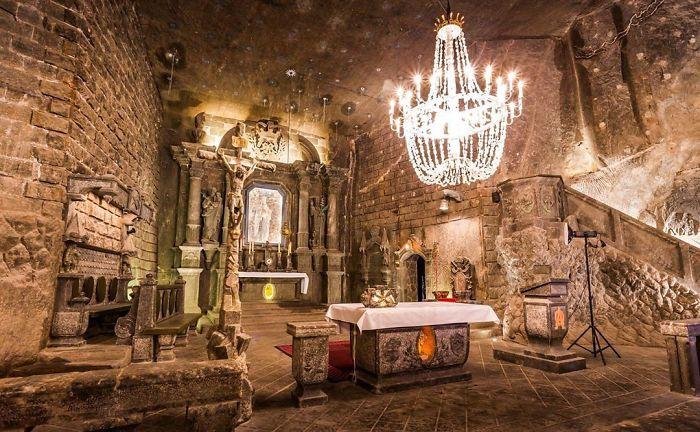 Lengyelország: A Wieliczka sóbánya