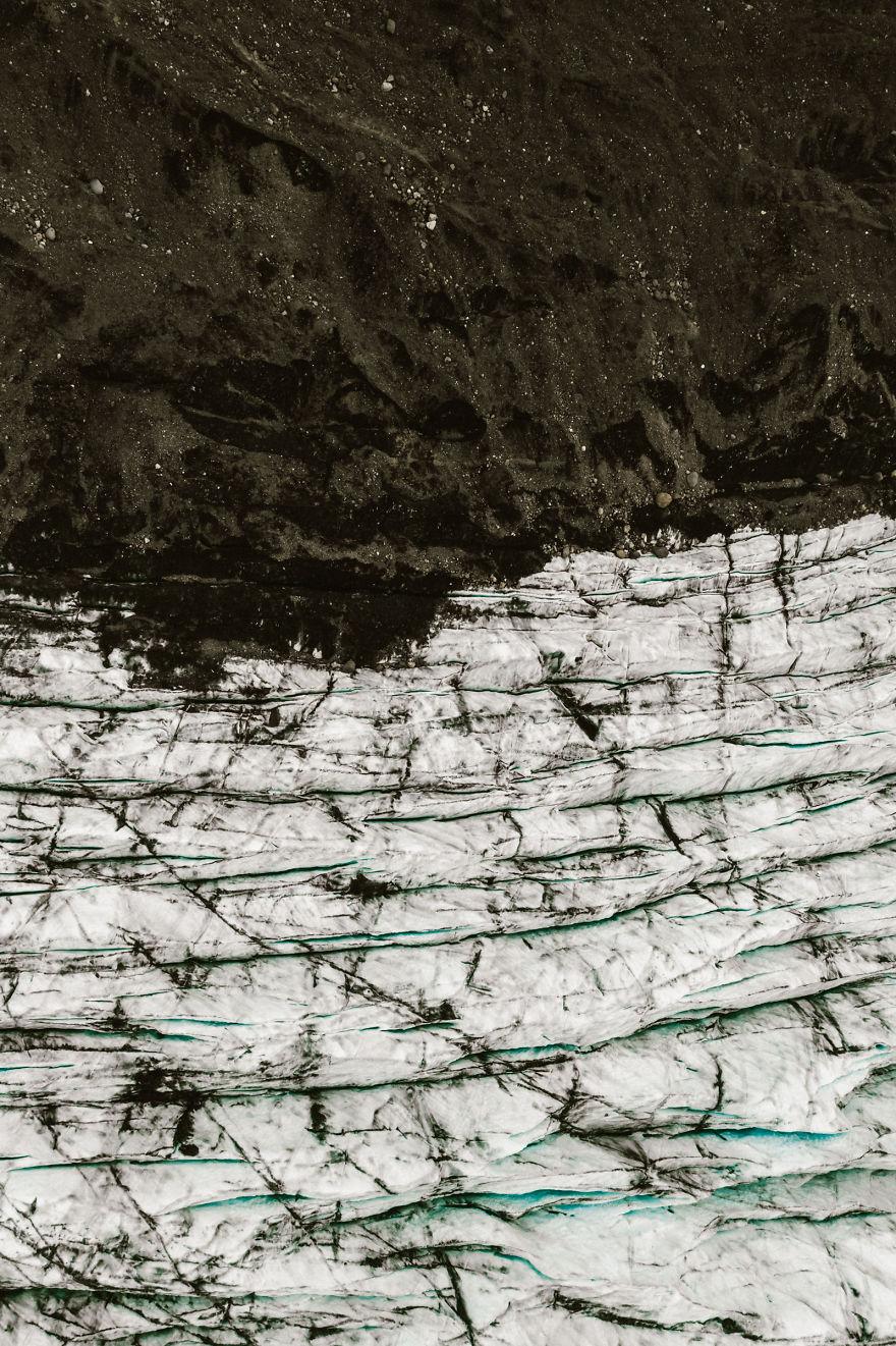 Edge Of Earth And Glacier