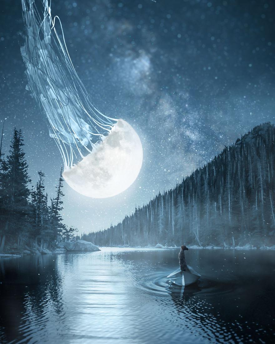 The Glowing Moon