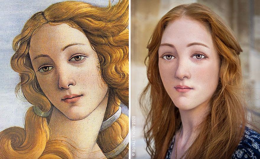 Botticelli's Venus (Simonetta Vespucci)
